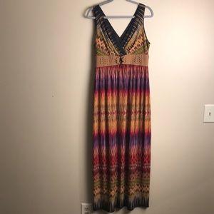 Ronni Nicole Maxi Dress 12 Sleeveless